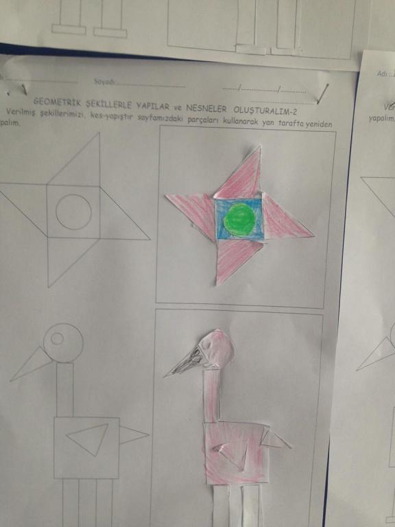 2 D Sinifinin Geometrik Sekillerle Yapilar Ve Nesneler Olusturma